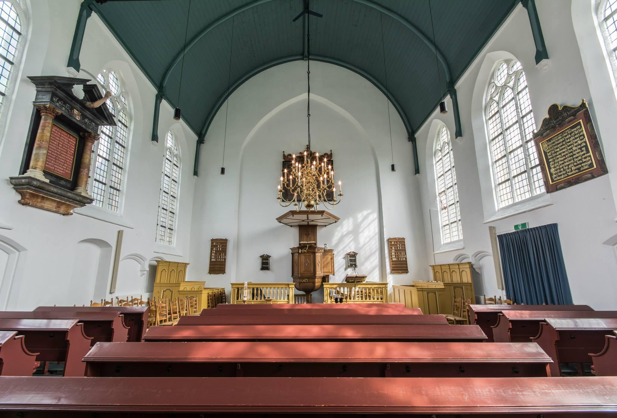 Inrichting Woudtse kerk