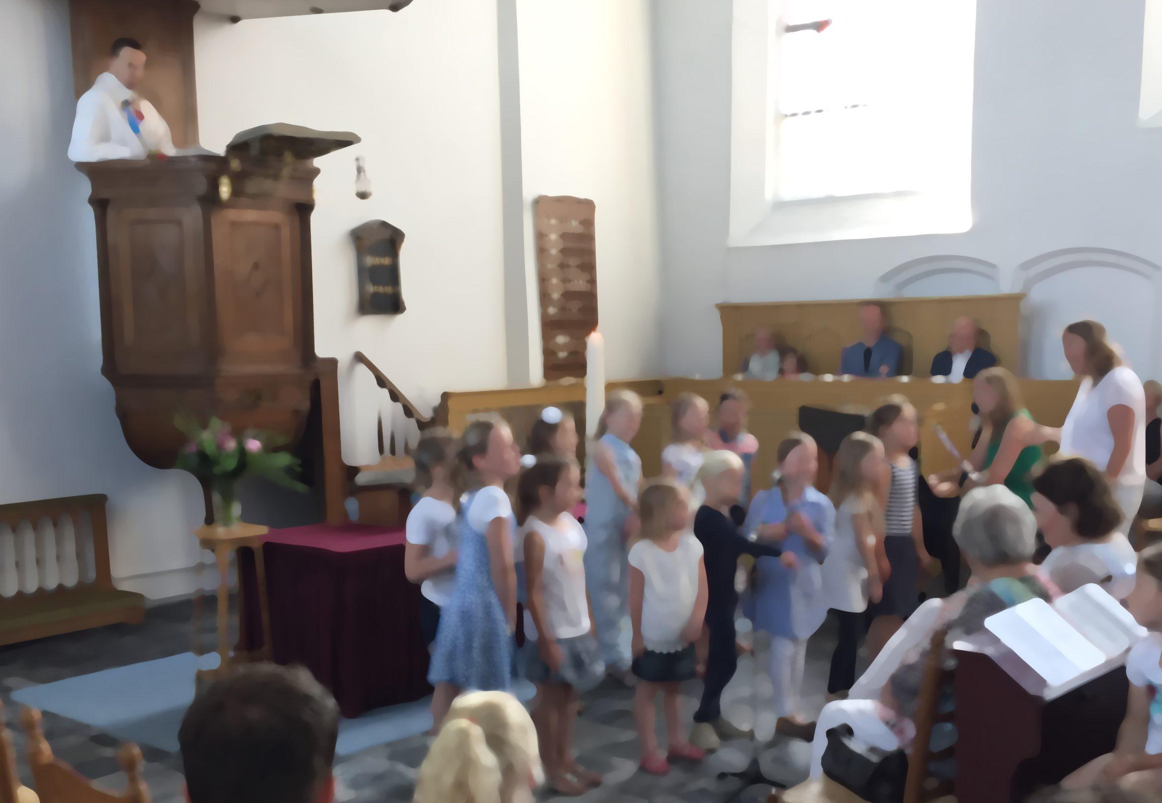 Kinderkoortje: zing je mee op 17 juni?