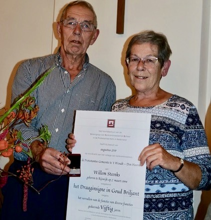 Wim en Lenie 50 jaar betrokken