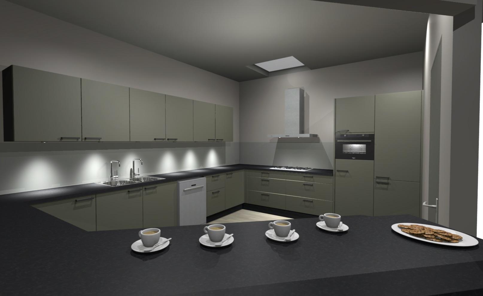 Nieuwe keuken De Rijstuin