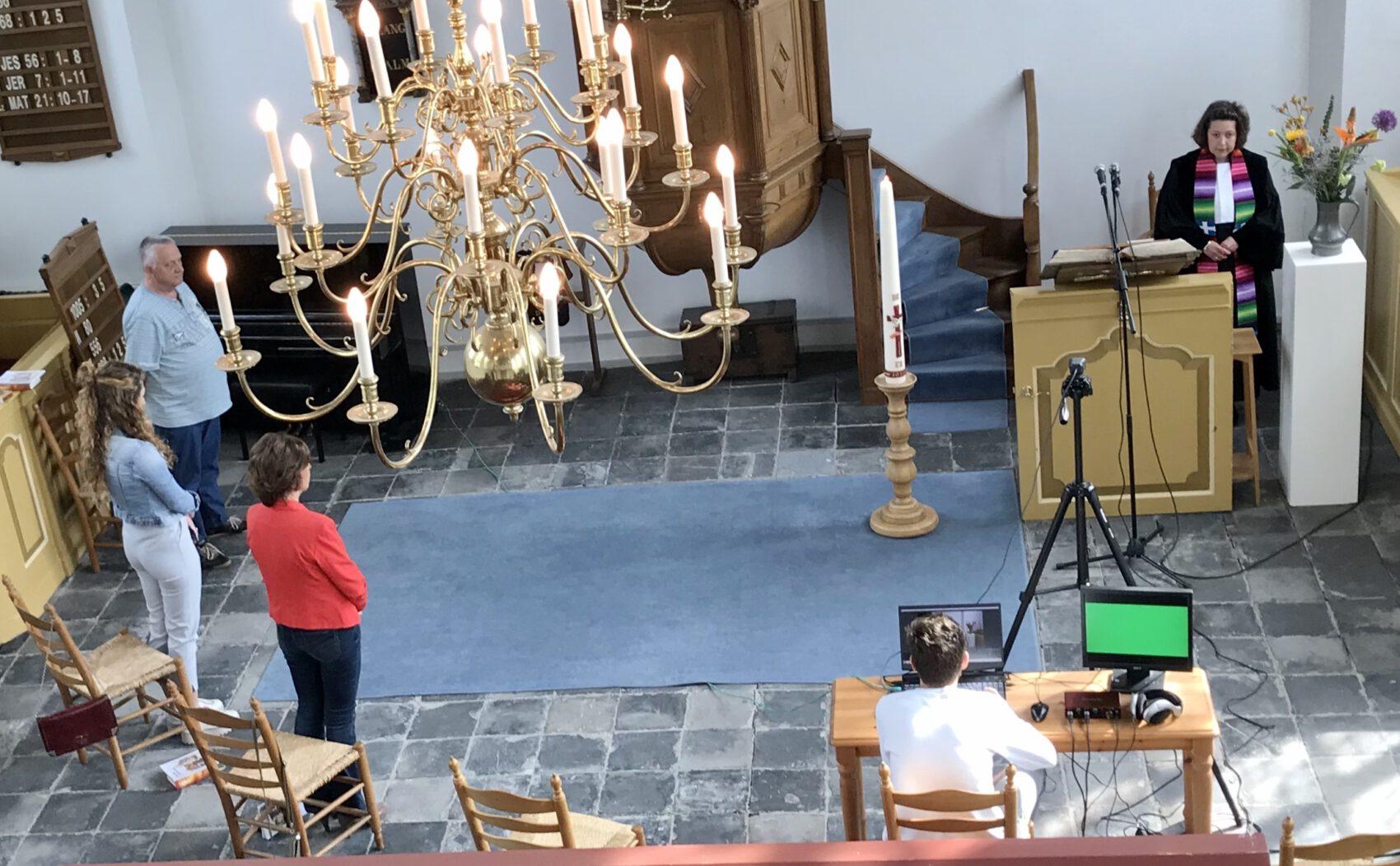 Nieuwe richtlijn PKN: 30 bezoekers in een kerkdienst