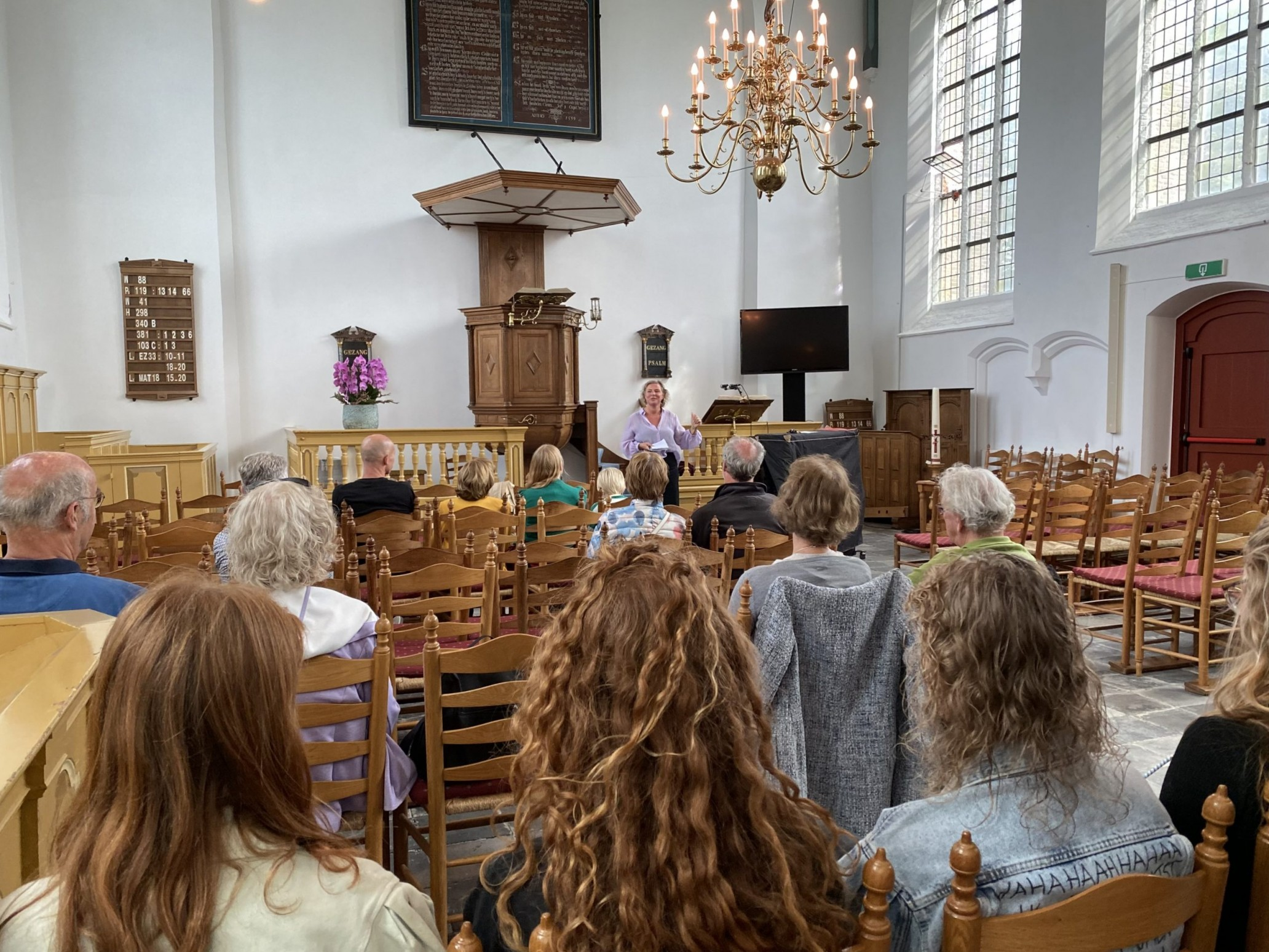 Open Monumentendag: inloopconcerten in de Woudtse kerk